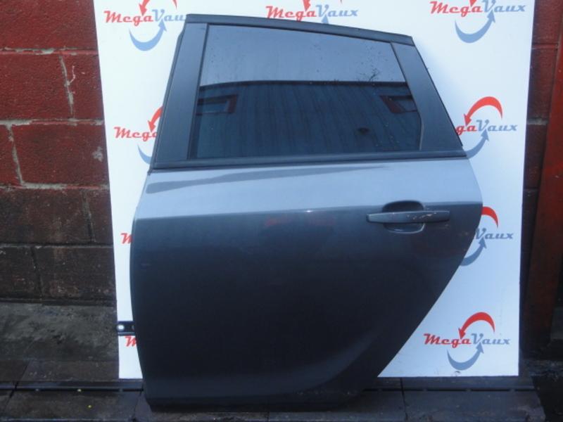 Astra J 5dr Hatch Rear LH Passenger Bare Door Technical Grey GAL/177