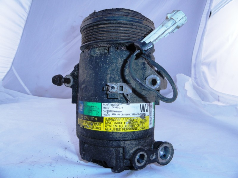 Air Conditioning Compressor ident WJ /WC