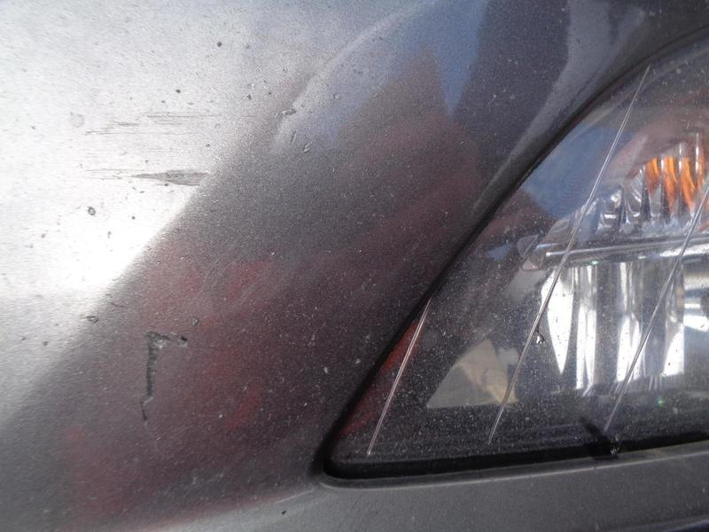 Astra J Front Bumper Technical Grey Paint Code Gal/177