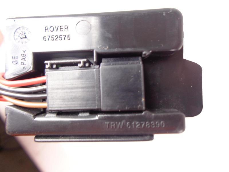 Range Rover L322 Heated Steering Wheel Control Module 6752575, TRW 61278390