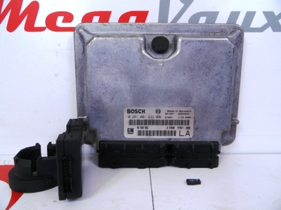 Ecu Kit X20DTH Vectra B Bosch 0281001633 ident LA