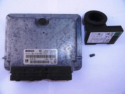 Ecu X17DTL Astra G Bosch 0281001670 ident LS