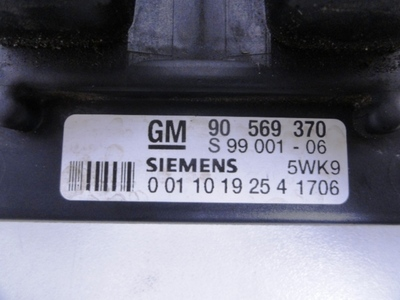 Ecu Kit Vectra B X18XE1 Siemens 90569370