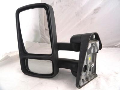 Door/Wing Mirror LH Manual Black Arena