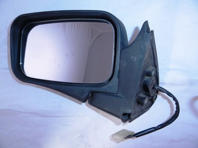 Door/Wing Mirror LH Electric Frontera A Black