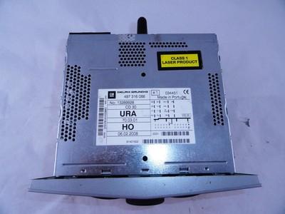 Astra H, Zafira B CD30 Matt Chrome ident CQ/HO