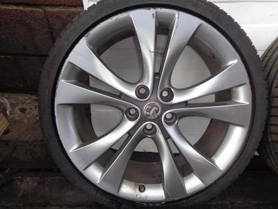 "Astra G Alloy Wheel & Tyre 205-50-16"" 4 Stud"