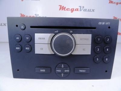 CD30 MP3 Charcoal ident FB Corsa C, Meriva A
