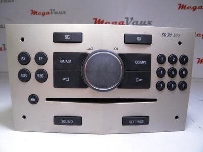 Astra H CD30 MP3 Satin Stone Tech 2 reset ident AC