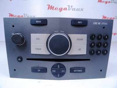 CDC 40 Opera 6 CD Changer Metallic Charcoal ident LL