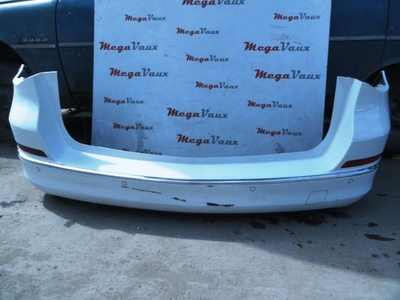 Astra J 2013 Estate Rear Bumper White with Parking Sensors GAZ/40R