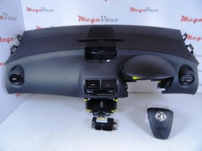 Meriva B 2010-ON Driver Side Steering Wheel Airbag 2 Pin Black Plug 13300475