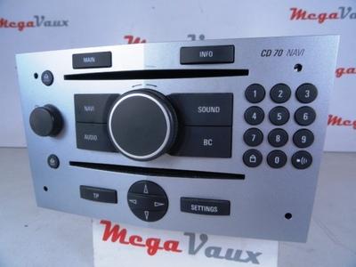 Astra H CD70 Navi Matt Chrome ident AN