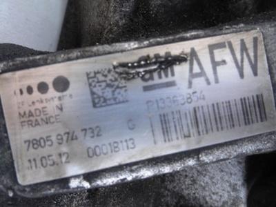 Astra J Electric Power Steering Rack with Steering Motor AFW