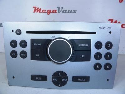 Astra H CD30 MP3 Matt Chrome Tech 2 Reset ident BA