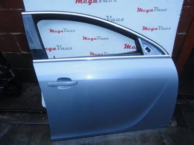 Insignia 5dr Hatch Drivers RH Front Door Silver Lightning GBJ/163