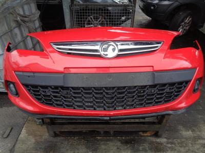 Astra J GTC 2013 3dr Hatch Front Bumper Power Red GBH/50B