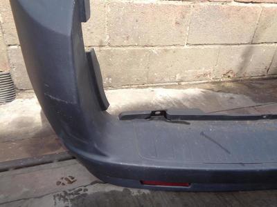 Combo D Rear Bumper Black Plastic (No Parking Sensors)
