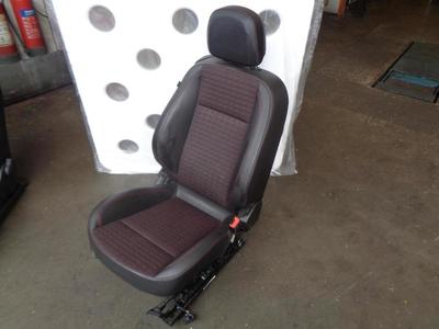 Astra J GTC 2010-ON 3dr Hatch Drivers Front Half Leather Seat TAHK