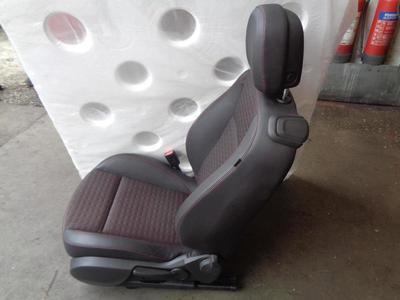 Astra J GTC 2010-ON 3dr Hatch Passenger Front Half Leather Seat TAHK
