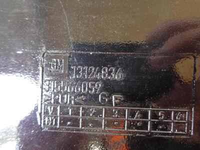 Corsa C Rear Spoiler in Black 13127670