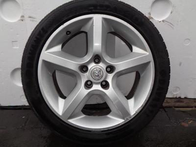 """Astra H 5 Spoke Alloy Wheel With Tyre 225-45-17"""" 5 Stud"""