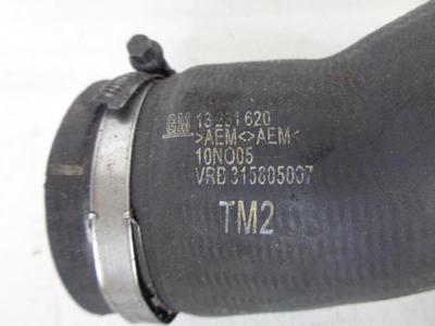 Astra H, Zafira B Z16LET, A16LET Petrol Turbo Intercooler Outlet Hose 13231620 Ident TM2