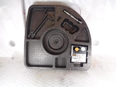 Jaguar XF X250 Stowage Tray with Tyre Inflator/Towing Eye CX2319H323AB