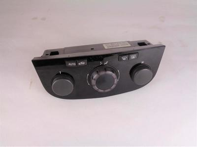Corsa D Heater Electronic Climate Control Piano Black 13261832 XS2